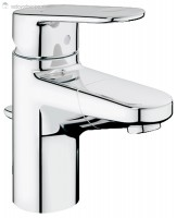 Grohe Europlus 33155002 - Enoročna kopalniška armatura za umivalnik z izvlečno prho