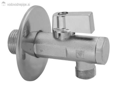 Kovina KV 553 - 1223417 - kotni ventil s filtrom