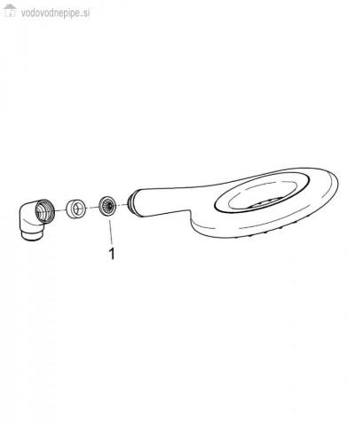 Grohe Rainshower Icon 150 - Ročna prha seznam delov